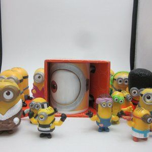 Minions lot- mug new in box and 13 toys